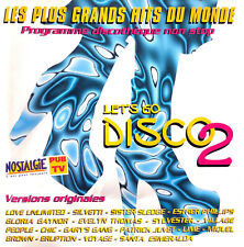 Compilation CD Let's Go Disco 2 - France (VG+/VG+)