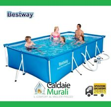 PISCINA BESTWAY PRO FAMILY SPLASH cm Rectangular 400X211X81H MOD. 56424