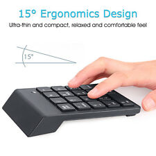 Mini Bluetooth Wireless Numeric Keypad Num Pad Keyboard For Laptop PC Tablet