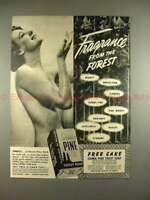1939 Sierra Pine Soap Ad  - Fragrance From the Forest!!
