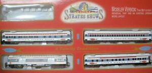 HO IHC JAMES E STRATES SHOWS CIRCUS  4 CAR SET #318 JAMES E. STRATES 4 CAR SET