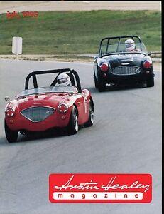 Austin Healey Magazine July 1995 Laguna Beach Race EX w/ML On Back 022717nonjhe
