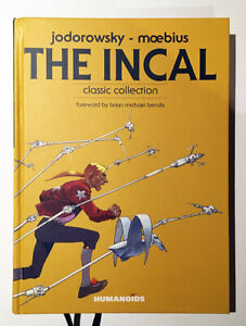 THE INCAL Jodorowsky Moebius comic hardcover Humanoids 2011