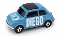 Vehicles Car Fiat 500 Diego Armando Maradona N.10 diecast Scale 1:43 Brumm