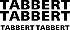 TABBERT 4 PIECE KIT CAMPERVAN MOTORHOME CARAVAN STICKERS CHOICE OF COLOURS #1