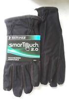 $50 Isotoner Men's Black Winter Gloves w/ Smart Touch 2.0 Screen Technology