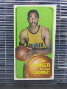 1970-71 Topps Basketball Bill Turner #158 Cincinnati Royals Y276