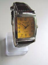 Magnum 1930 * Rechteckig * Herren Quarz Uhr * Lederband Braun