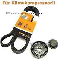 Keilrippenriemen + Spannrolle BMW E46 316 318 i Ci für Klimakompressor