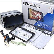 Kenwood DDX773BH Double Din DVD Stereo ~Bluetooth HD Radio & BACKUP CAM Included