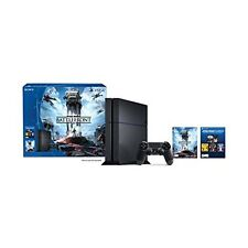 PlayStation 4 500GB Console Star Wars Battlefront Bundle Very Good 3Z