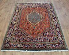 Traditional Vintage Wool 225cmX138cm Oriental Rug Handmade Carpet Rugs