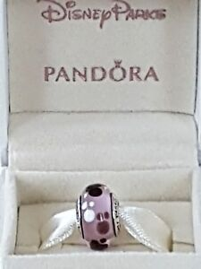 Genuine pandora disney parks limited edtion charm with gift card