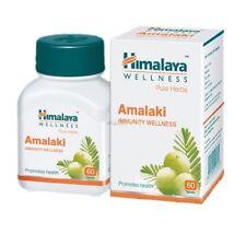 Himalaya Herbals Amalaki 60 Capsules- Pure Herbs- Système Immunitaire Welness
