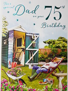 For a special Dad 75th Birthday Card