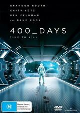 400 Days | DVD | Region 4 | Outer Space Mission Astronauts | Brand new & Sealed