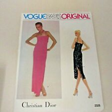 Vintage Vogue Paris Original pattern Christian Dior # 2325 SZ 10 Bust 32.5 FF