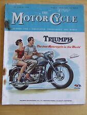 THE MOTORCYCLE MAGAZINE MAR 1951 BEGGARS' ROOST TRIAL CADWELL RACES GEOFF DUKE