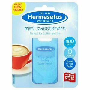 Hermesetas Sweeteners 300 Tablets Perfect For Coffee & Tea