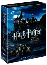 Harry Potter Complete 8-film Collection 8-disc DVD Set 2011 New Without Plastic