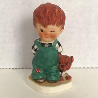 "Vintage 1957 ORIGINAL Hummel Goebel Charlot BYI #2 Red Head ""Roving Ey"" Boy"