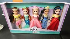 MOXIE GIRLZ  PRINCESS 5 DOLL SET
