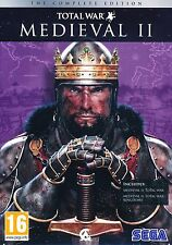 Medieval 2 Total War With Kingdoms Expansion PC The Complete Collection NEW