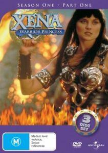 Xena - Warrior Princess : Series 1 : Part 1 (DVD, 2005, 3-Disc Set)