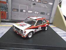 FIAT 131 Abarth Rallye DRM Hunsrück 1980 #1 Röhrl Warsteiner Sieger Trofeu 1:43