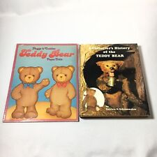 1984 Huggs & Cuddles Teddy Bear Paper Dolls + Collector's History Of The Teddy
