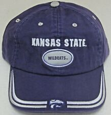 premium selection 6461e df69b Kansas State Wildcats Purple Relaxed Fit One Size Fits All Adjustable Hat