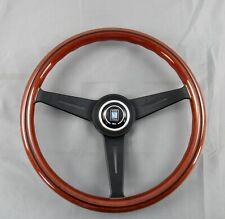 Nardi Steering Wheel Classic 360 mm Mahogany Wood with Black Spokes 5062.36.2000
