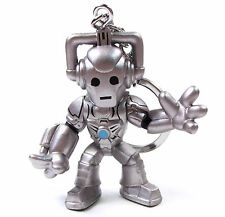 """DOCTOR WHO Time Squad Character Keychain CYBERMAN 3"""" Figure Bag Clip Hanger"""