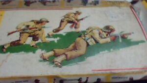 heller french infantry nib 1944-1945 box damaged 1/35th