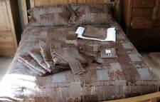 Croscill Galleria Brown Comforter Bedding Set Shams, Drapes~Tieback, Skirt PLUS