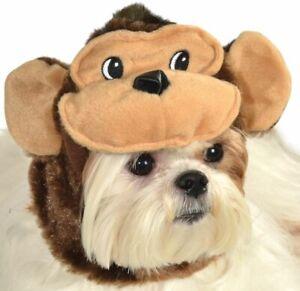 NEW Rubie's Pet Halloween Monkey Costume Hood Size Medium/Large
