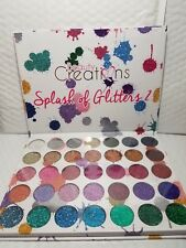 BEAUTY CREATIONS SPLASH OF GLITTERS 2  EYE SHADOW PALETTE 35 COLORS NEW ORIGINAL