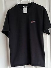 Unisex  Black Nike Short Sleeve T-Shirt - Size:MEDIUM- Heavyweight  EUC