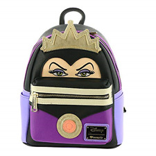 Loungefly Snow White Evil Queen Faux Leather Mini Backpack Standard