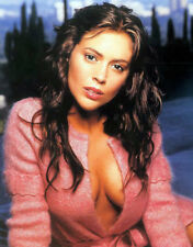GLOSSY PHOTO PICTURE 8x10 Alyssa Milano Actress With Sexy Look
