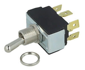 Generator Change Over Switch 110v / 240v 6 Terminal DPDT On-Off-On 8798304