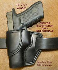 Gary Cs Leather Owb Avenger Left Hand Holster Fits Glock 17 22 31