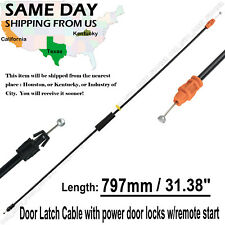 Door Latch Cable Front LH/RH For 07-09 Chevy GMC Cadillac with power door locks