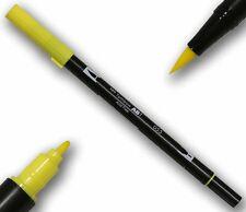 TOMBOW ABT process YELLOW DOUBLE Brush Pen artisti penna 2 punte tätowierer