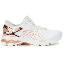 ASICS Women's Gel-Kayano 26 Platinum White/Rose Running Shoes 1012A749.100 NEW