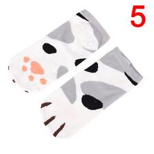 Lady Girl Summer Winter Cartoon Cute Cats Paw Boat Low Cut Ankle Short Socks SK