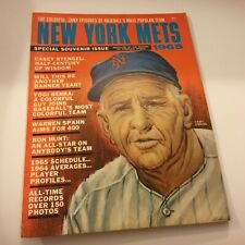 New York Mets 1965 Special Souvenir Issue Excellent Condition Rare Baseball Find