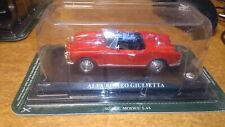 ALFA ROMEO GIULIETTA  SCALA 1:43  COLLEZIONE MODELLINI AUTO DEL PRADO    NUOVA