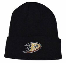 NHL Anaheim Mighty Ducks Beanie Hat Black