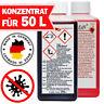 Desinfektionsmittel Schnelldesinfektion KONZENTRAT 250ml für 500ml 1l 5l 10l 30l